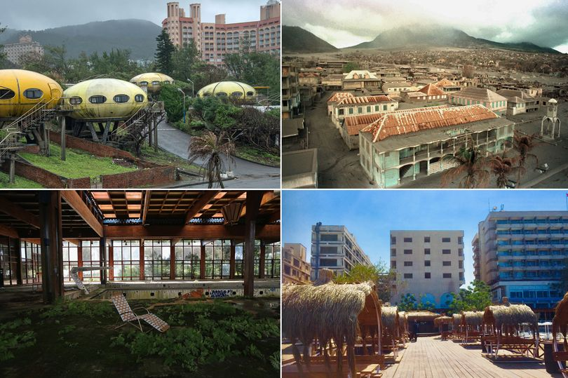 Abandoned holiday paradises lost to time – Tower of Doom and Dirty Dancing hotel